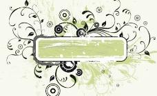绿色垃圾banner矢量图形