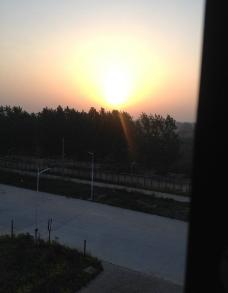 早晨的太阳图片