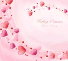 婚礼邀请卡背景设计