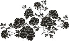 硅藻泥花纹图片