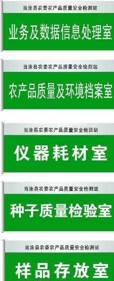 2014 农委新科室牌图片