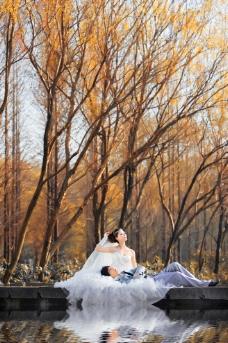 户外婚纱摄影图片