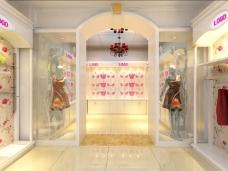 时尚动感的服装专卖店装修