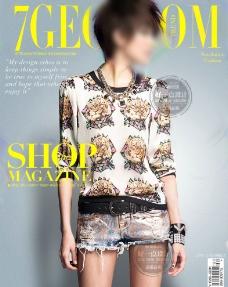 封面美女 杂志封面图片