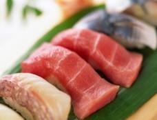 日本料理生鱼片高清摄影图片