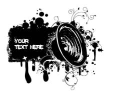 音乐海报传单设计图片