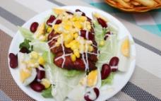 厨师沙律图片