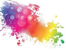 彩色背景壁纸素材图片