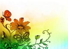 花纹背景壁纸素材图片