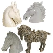 马匹雕塑图片