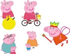 粉红小猪妹图片