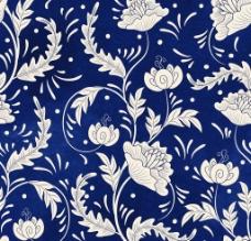 蓝色装饰品青花瓷风格图片
