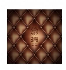 咖啡色  真皮沙发