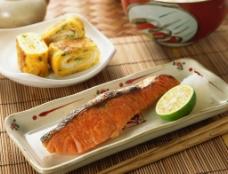 烤鱼美食高清摄影图片