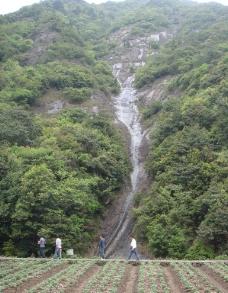 山间溪水图片