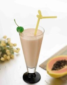 木瓜牛奶图片