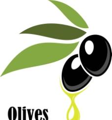橄榄油商标图片