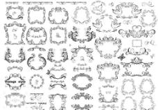欧式古典花纹图案图片