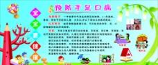 幼儿园手足口病宣传栏图片