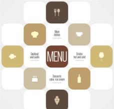 餐饮菜单设计图片
