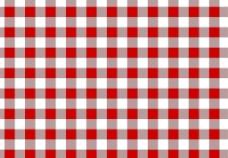 红色方格图片