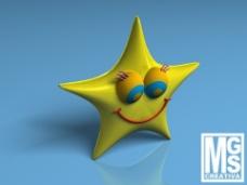 星星模型图