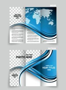商务画册传单封面图片