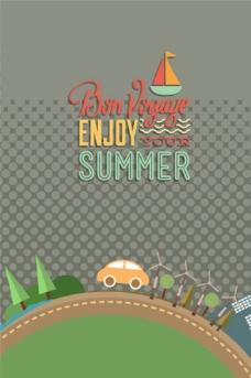 夏季summer海报设计图片