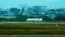 飞机起飞纪实图片