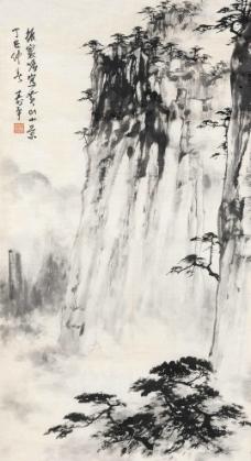 黄山小景图片