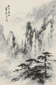 云海松涛图片