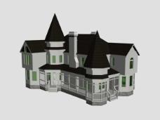 洋房模型图