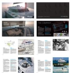 国际画册版式设计-游图片