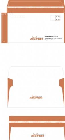 企业 中式信封