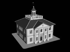 洋房别墅模型图