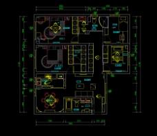 CAD施工图平面图立面图室内家装设计
