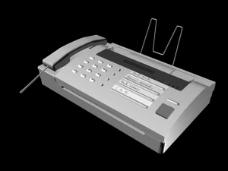 传真机模型图