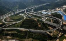 深圳立交桥航拍图片