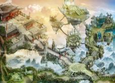 空中建筑图片