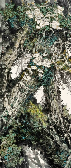春绿绽枝头图片