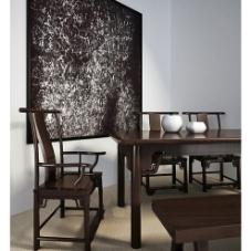 中式茶房图片