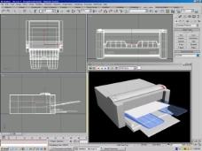 打印机模型