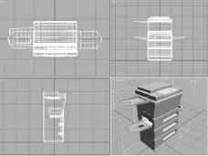 多功能打印机模型