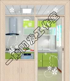厨房隔断花图片