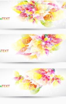 梦幻花朵背景1