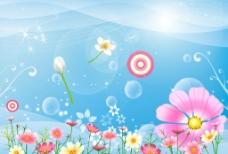 清新花图图片