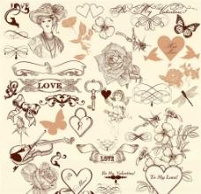 欧式花纹图标图片