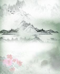 山水墨画图片