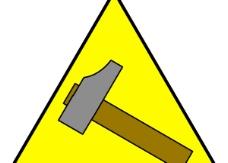 锤标志剪贴画