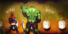 3D画洗手间图片